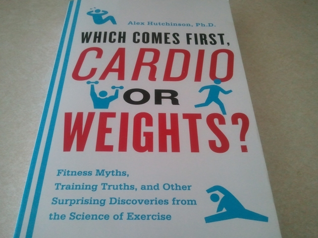 cardio or weights book