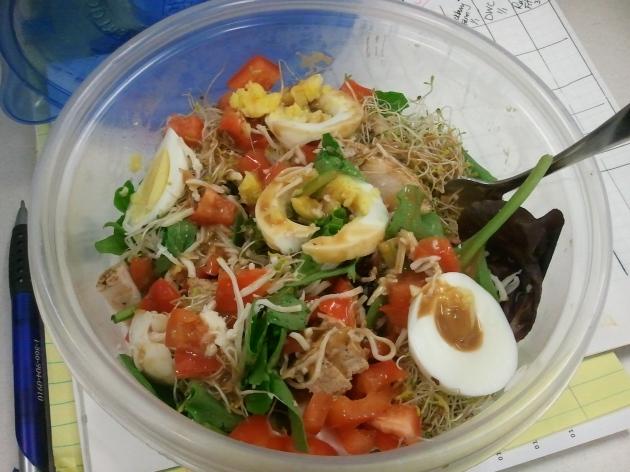 homemade salad