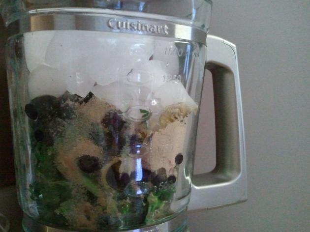kale protein shake