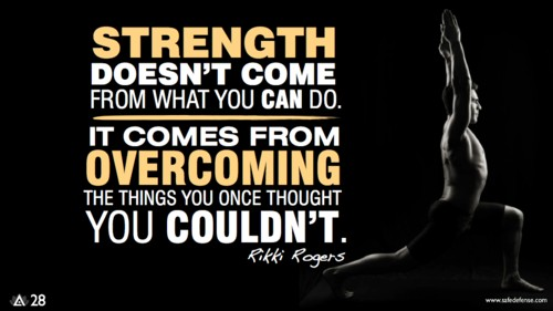 strength motivation
