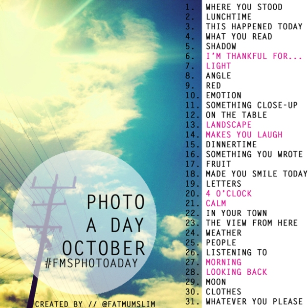 fatmumslim photo challenge