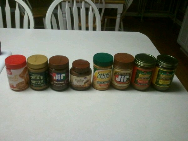 taste test nut butters