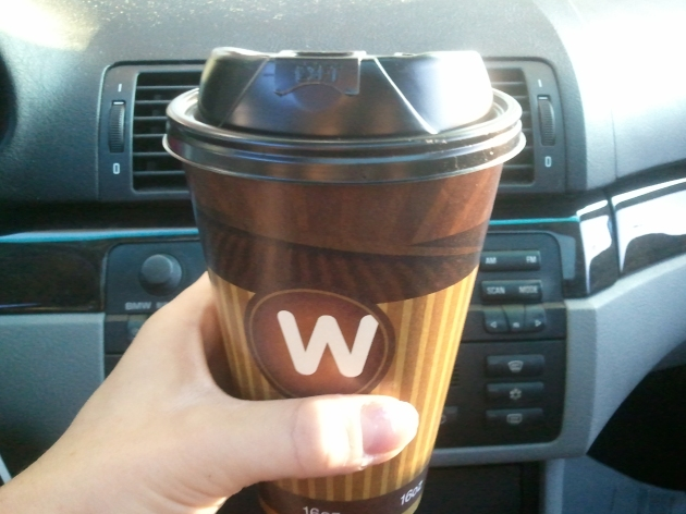 weigel's cappuccino
