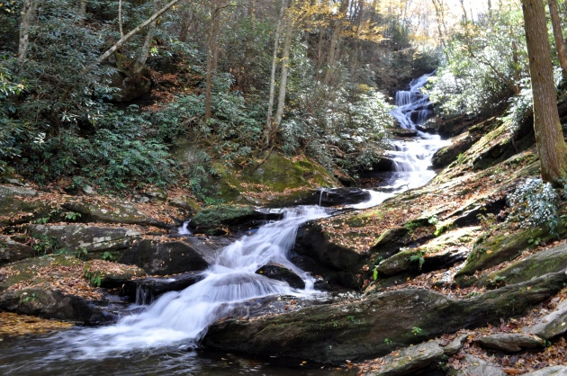 waterfall roaring fork falls