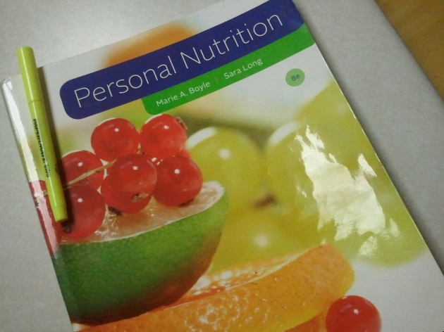 nutrition book