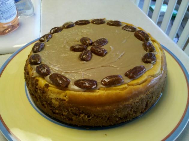 last year's cheesecake