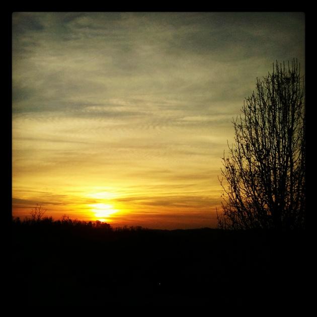 instagram sunset