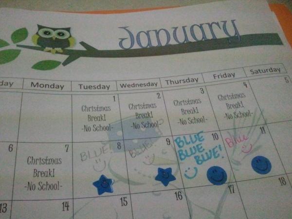 blue week