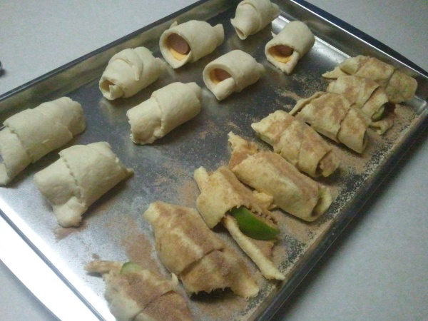 crescent roll goodies