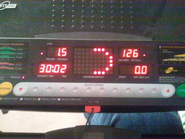treadmill time