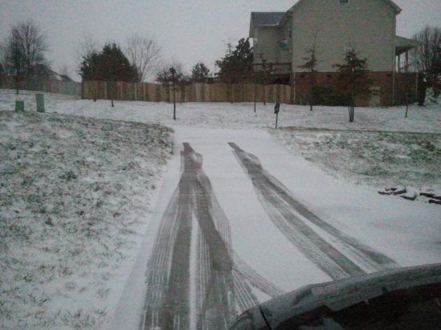 driveway tracks