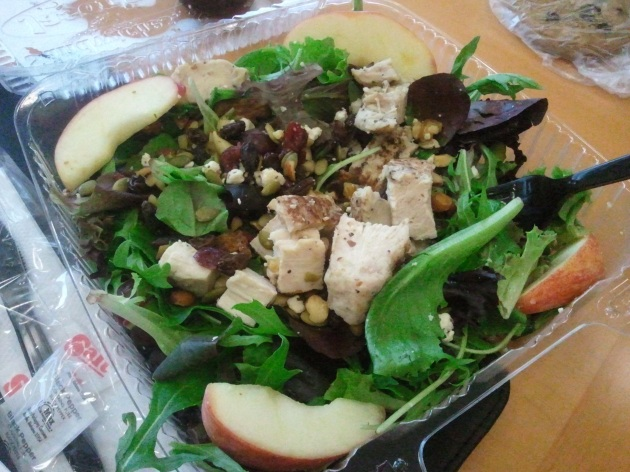 Jason's Deli nutty mixed up salad