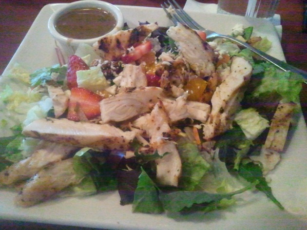 O'Charleys California Chicken Salad from 3/13/13