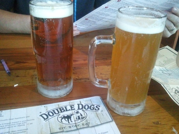 beer at double dogs